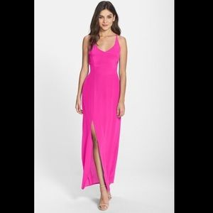 Charlie Jade Silk Maxi Dress